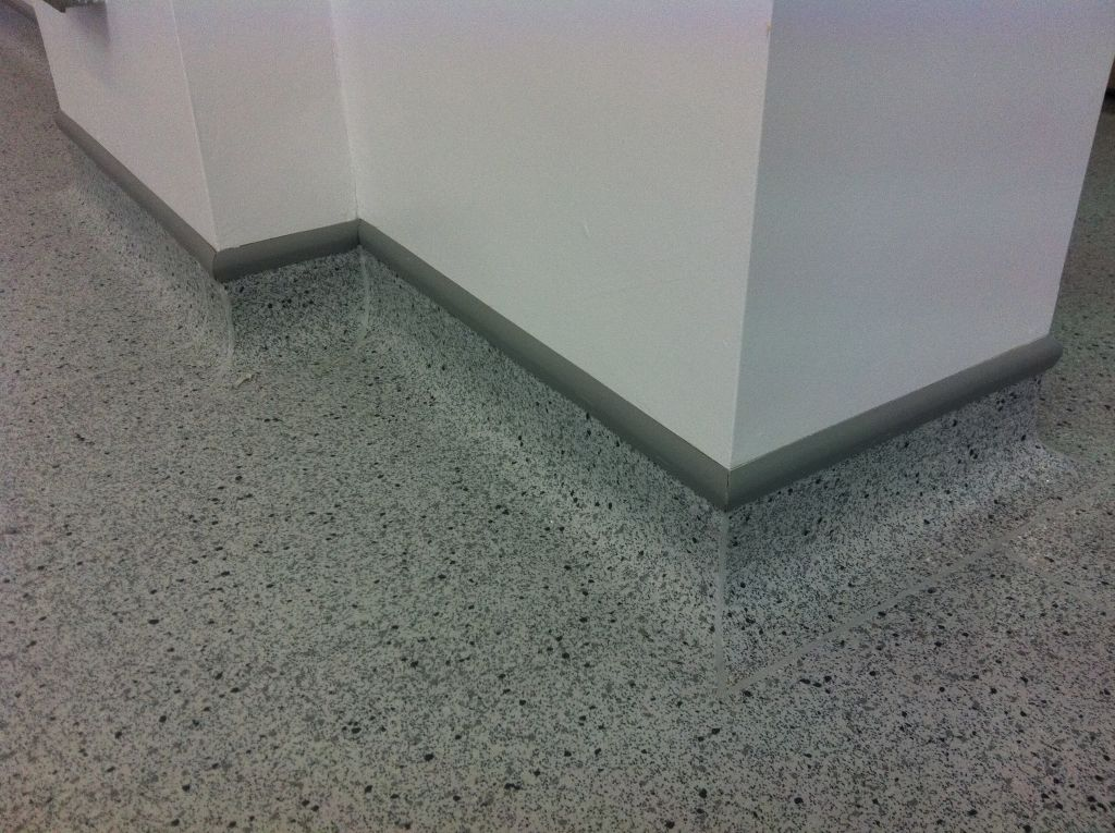 Flooring for businesses and commercial buildings for Commercial grade flooring options
